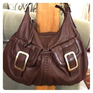 💫 Cole haan brown beautiful leather satchel 💫